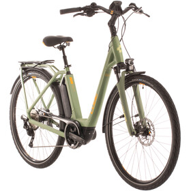 Cube Town Sport Hybrid Pro 400 Easy Entry green/orange